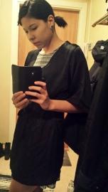 Jag i kimono.